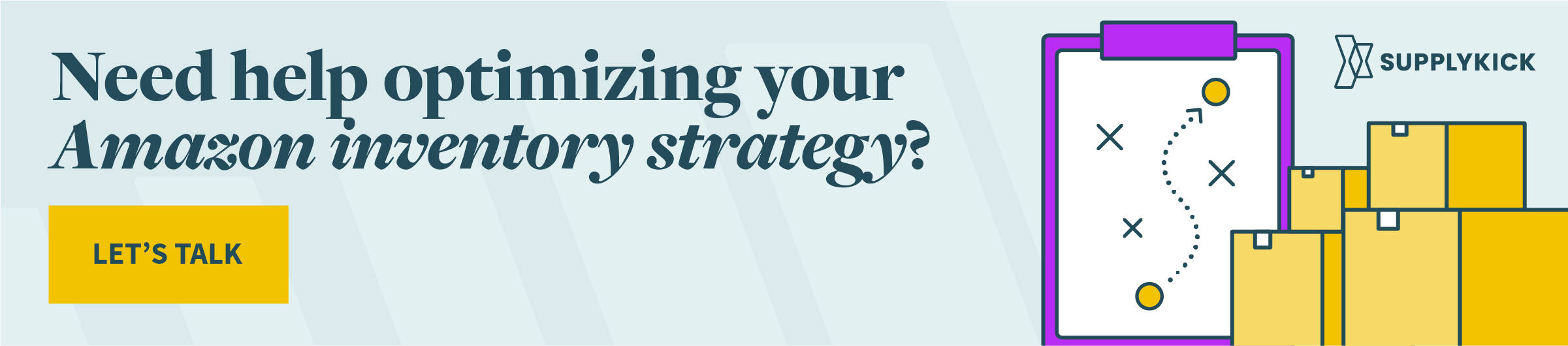 Need help optimizing your Amazon inventory strategy? Let's talk.