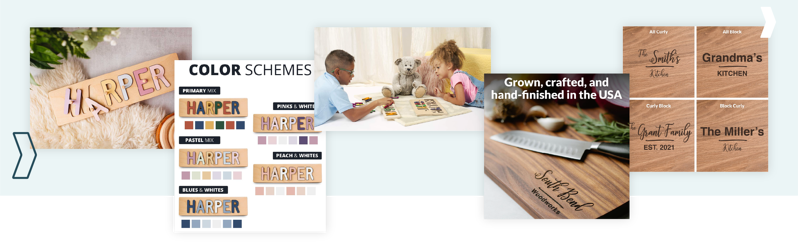 Amazon Agency Services: South Bend Woodworks Product and Lifestyle Photography