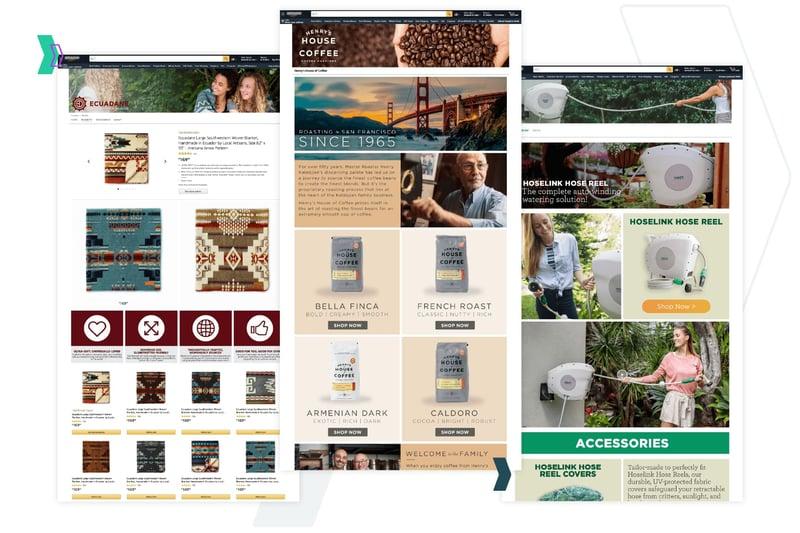 Amazon Storefront: Examples